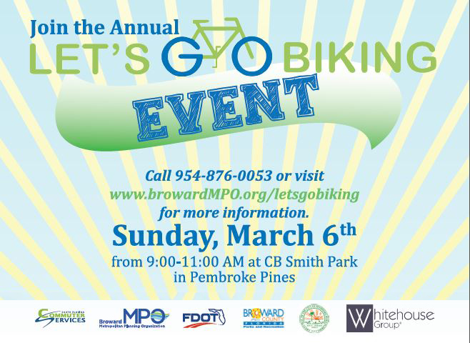 March is Florida Bike Month: Let's Go Biking!